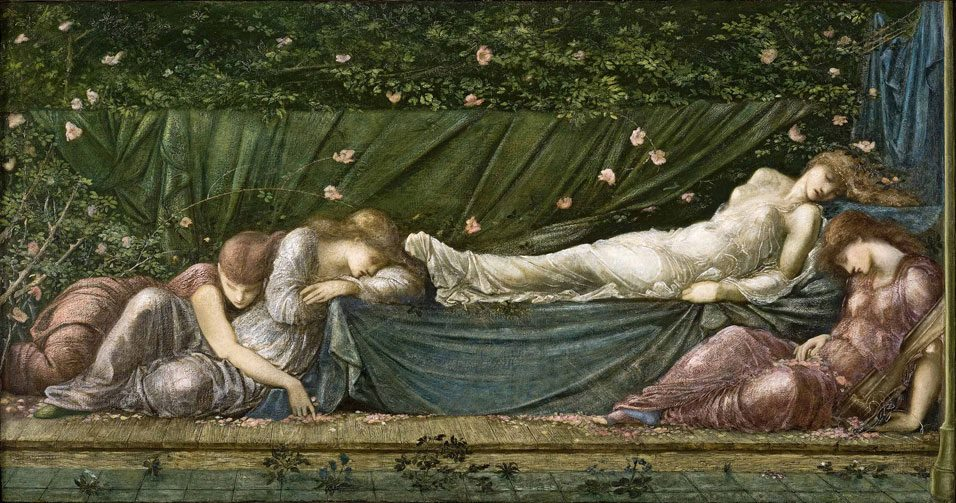 Edward Burne-Jones 1833-1898, La Belle au bois dormant, Musée d'Art de Ponce, Porto Rico.