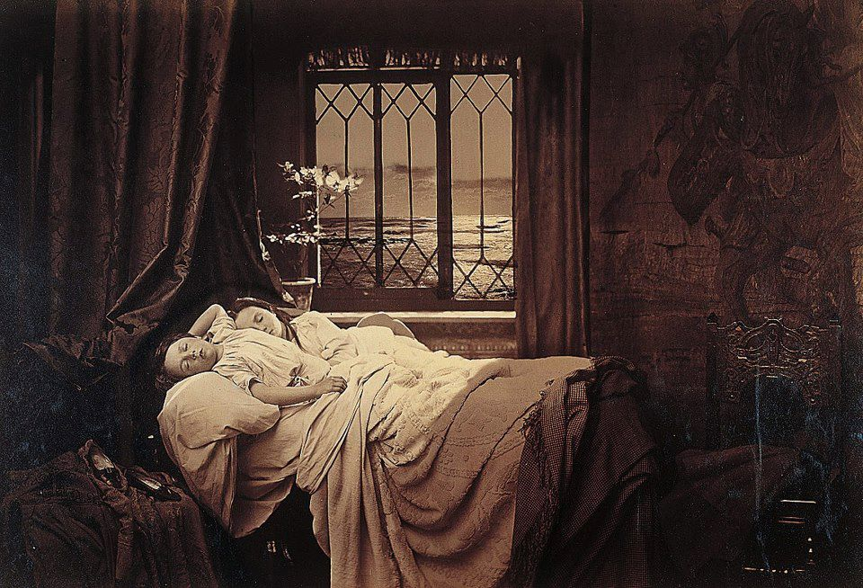Henry Peach Robinson 1830-1901, Sommeil, 1867.