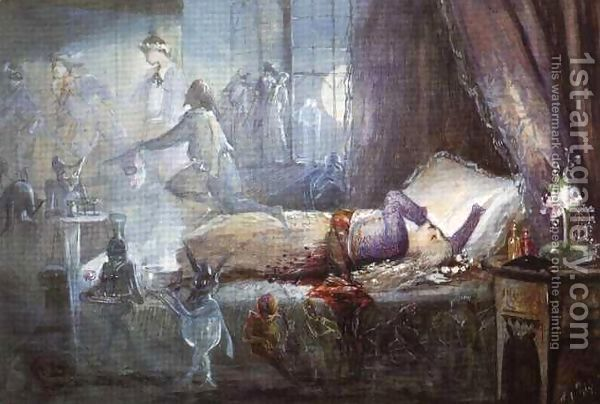 John Anster Fitzgerald (1809-1906). The-Nightmare The Nightmare.