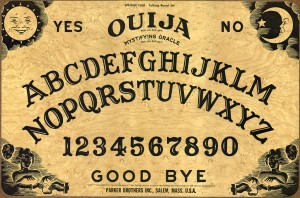 Table Ouija.