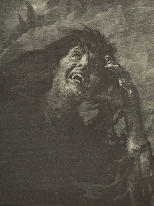 William Mortensen  - The Possessed.
