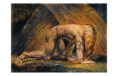 William Blake. - Nabuchodonosor.