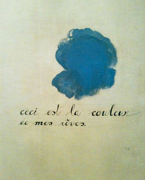 Joan Miró , this is the color of my dreams, 1925. (Détail).
