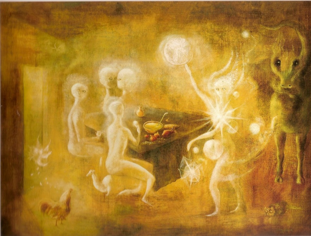 Leonora Carrington (1917-2011).