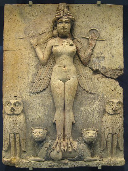 British Museum - Queen of the-Night. Lilith.