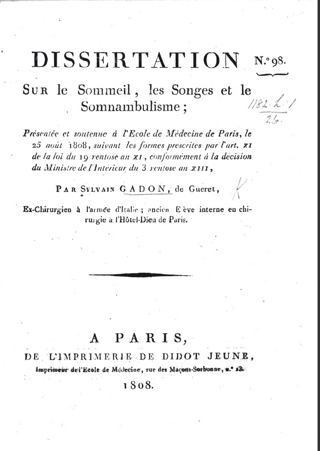 Sylvain soliman phd thesis